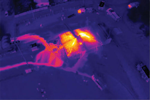 Thermal Imaging for Fire Fighting