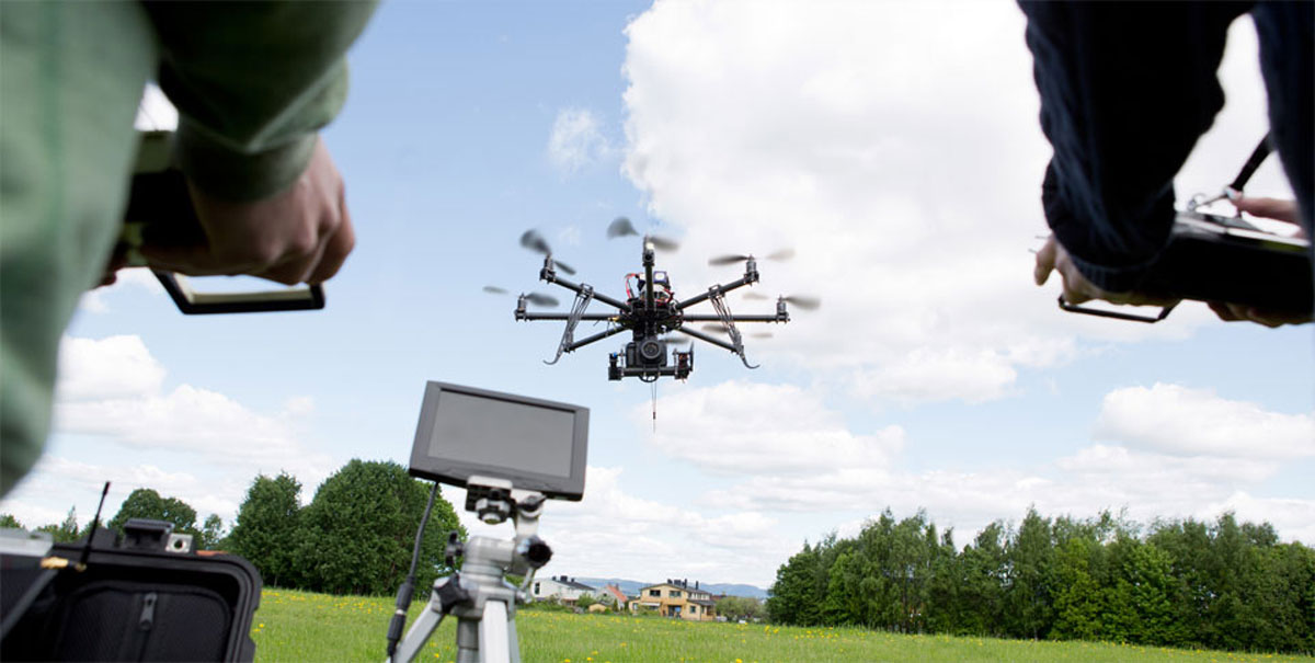 Uses of drones and UAS vehicles for aerial videography
